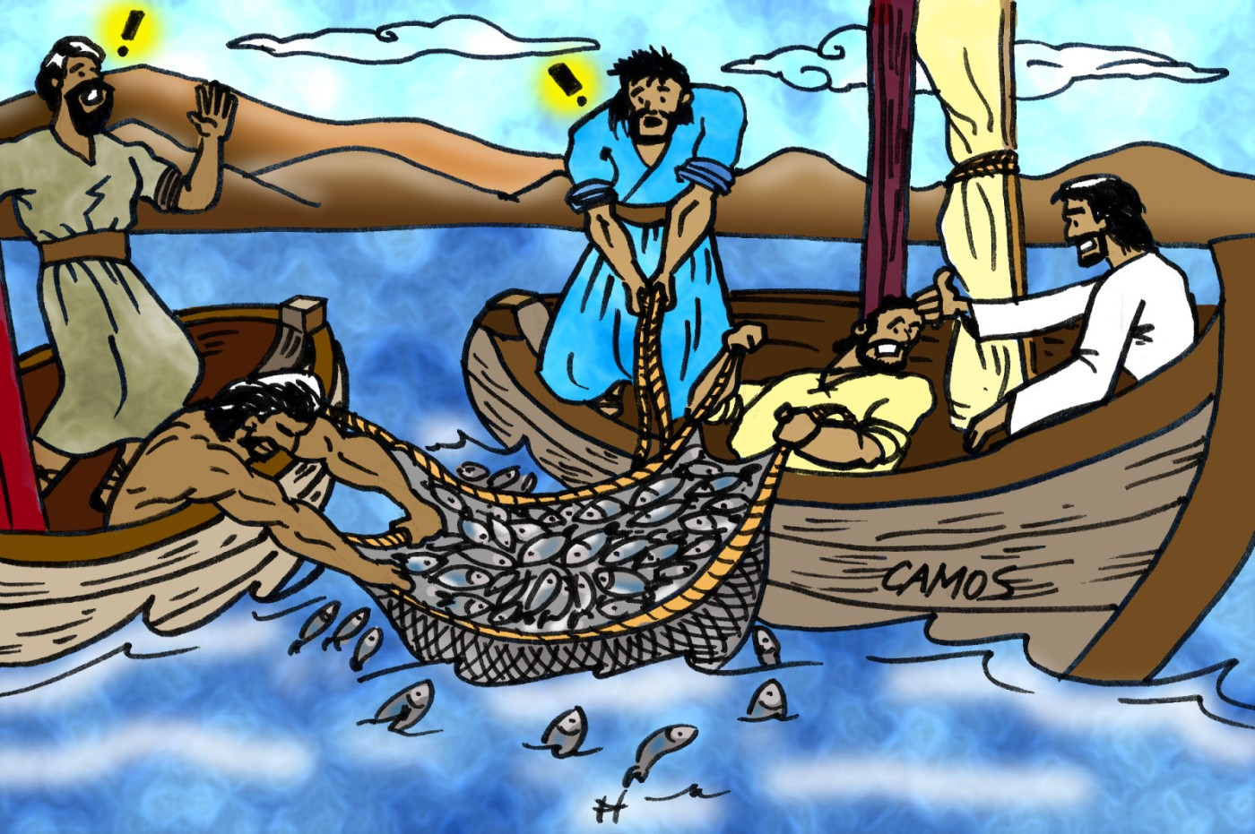 Pictures of disciples fishing Fishing - Images Bible : Les Images de la Bible