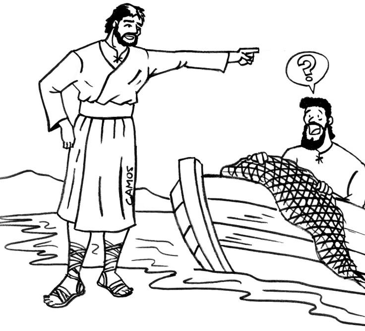 jesus-y-pedro-la-pesca-milagrosa