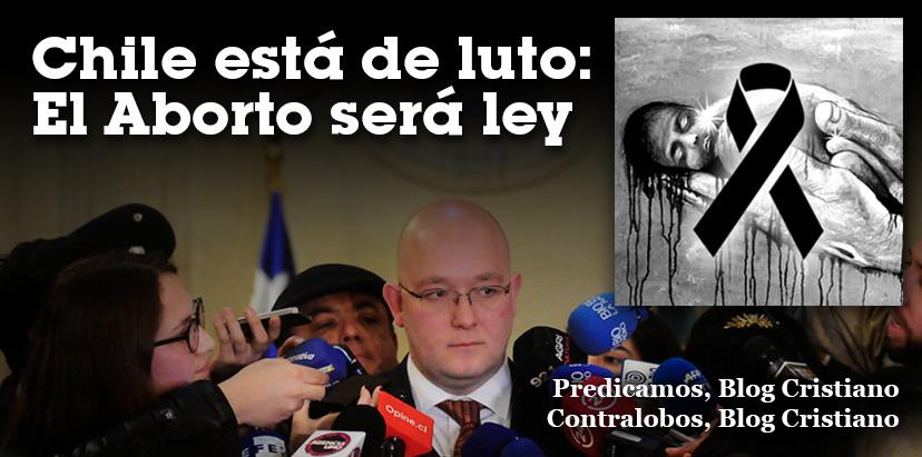 CHILE ESTÁ DE LUTO:  EL ABORTO SERÁ LEY Chile-esta-de-luto-predicamos
