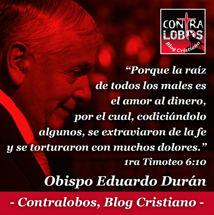 Eduardo Duran amor al dinero